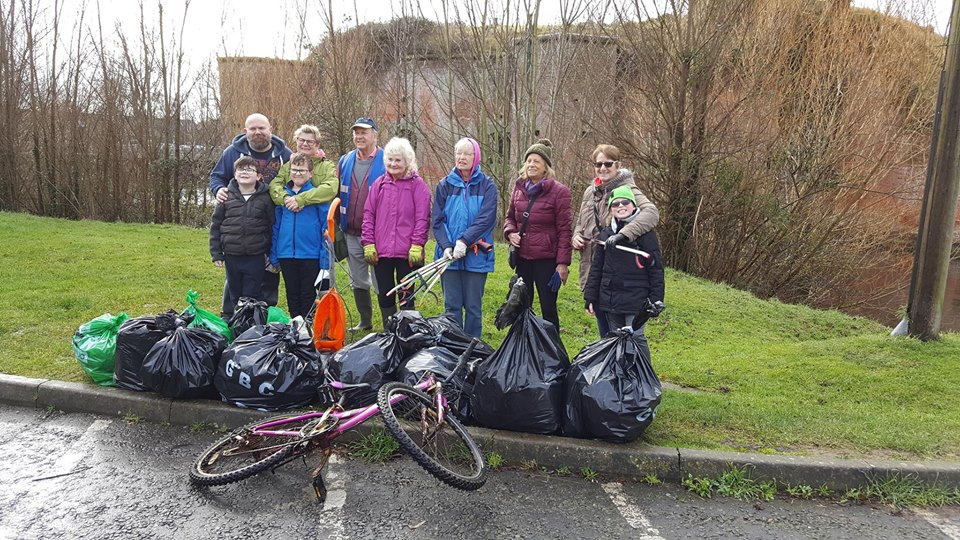 Brockhurst Litter Pick – 22nd April 2018