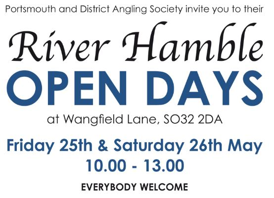 River Hamble Open Days – 25th & 26th May 2018